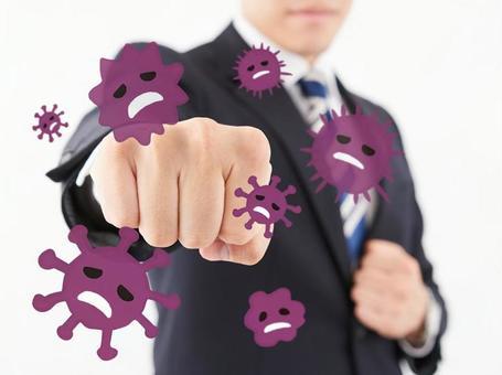 A businessman who overcomes the coronavirus