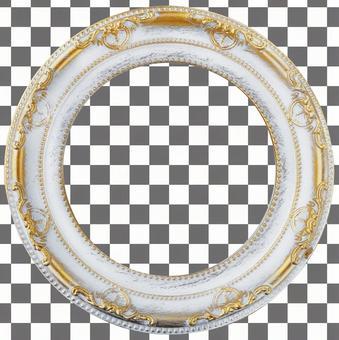 [Cutout PSD] Antique white frame