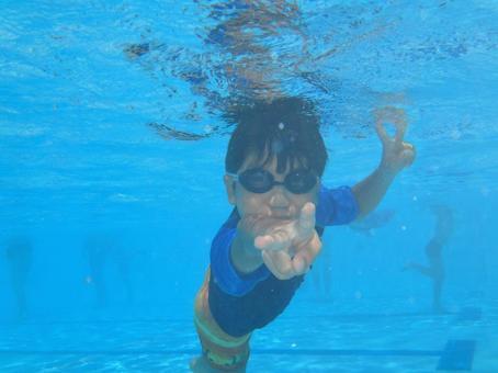 Piece underwater! 1