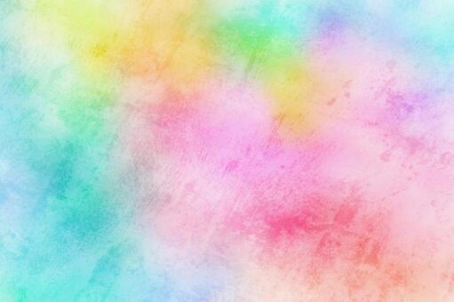 Watercolor painting wallpaper Easy-to-use universal background Colorful No. 29