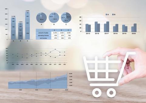 Marketing web shopping cart