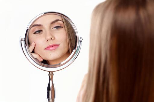 婦女和鏡子15