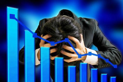 商人的失望和下降圖1