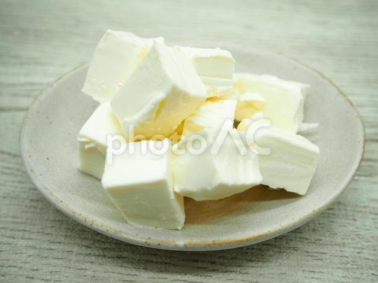 角切りクリームチーズ01の写真
