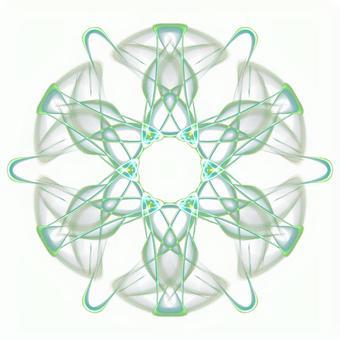 Fantasy hexagonal PSD background through 20201006_008