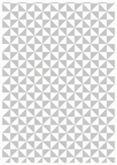 Geometric texture windmill gray