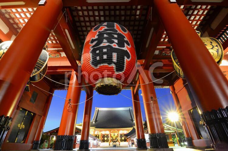 浅草寺 宝蔵門(仁王門)の写真