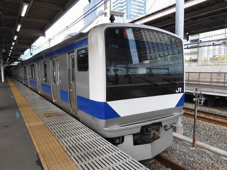 JR 조반 선 우에노 도쿄 행 (시나가와 역)