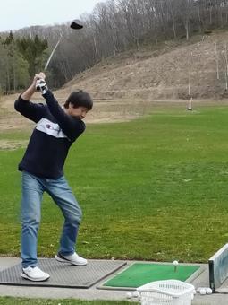 초심자 골프 연습