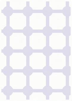 Texture of geometric pattern Masked purple