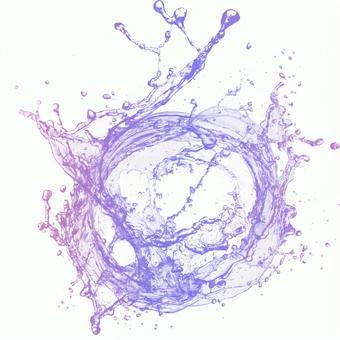 Splash | Background for beauty cosmetics with a moisturizing image