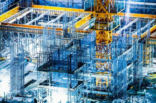 Image of building construction site
