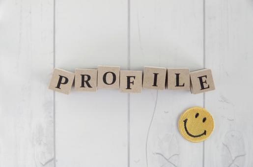 Profile and smile image