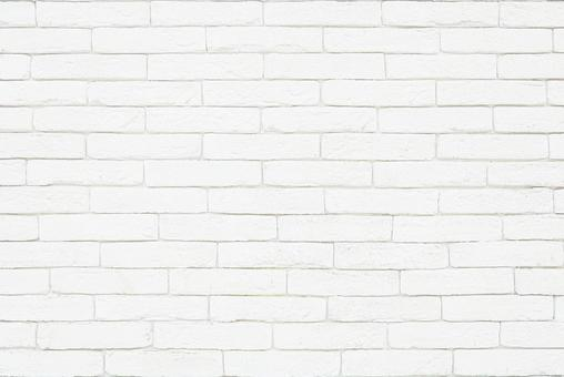 White brick tiles | Free wall background material