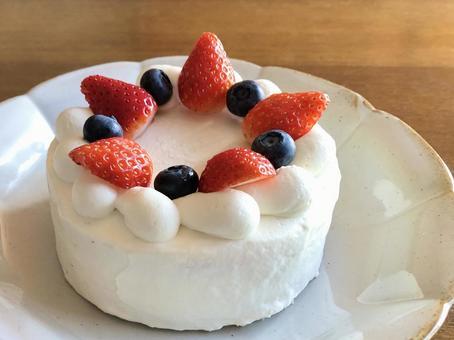 Berry shortcake