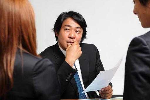 What do you think during the meeting? 3