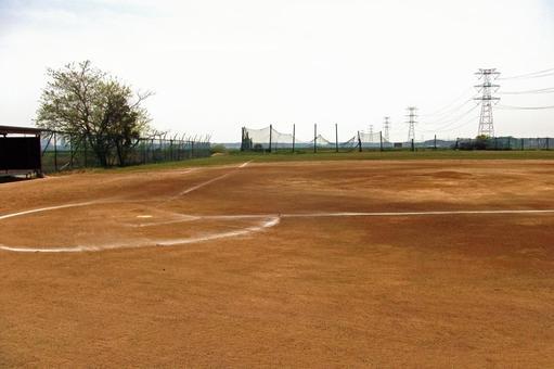 Unmanned baseball stadium # 5