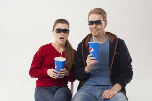 Watch 3D movies Couple 2