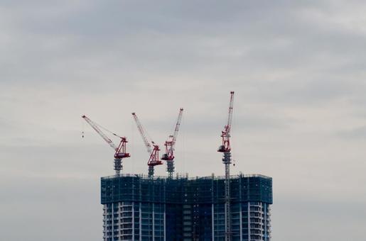 Building Construction Cranes
