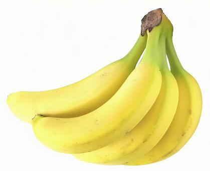 Banana (PSD with pass, transparent background)