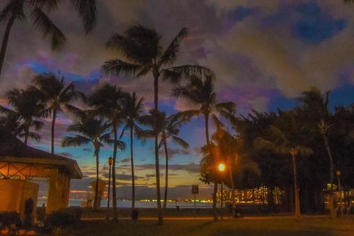 Sunset Beach in Hawaii