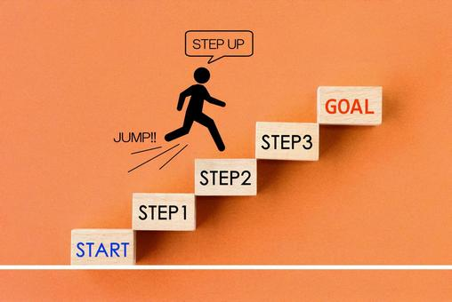 Business image-step up