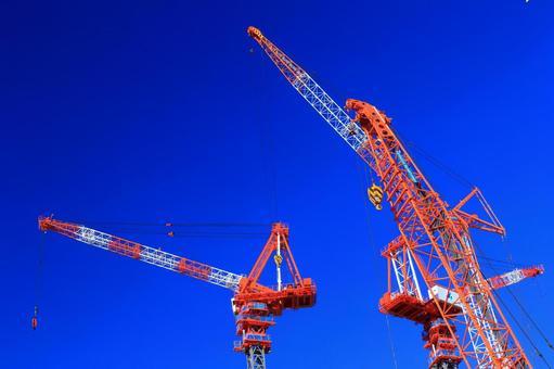High-rise Building Construction Crane 3