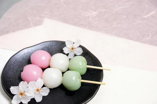 Sakura and Hanami dumplings