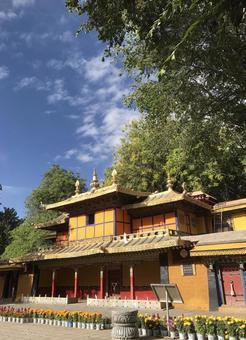 노블링카 라사, 티벳, 중국.