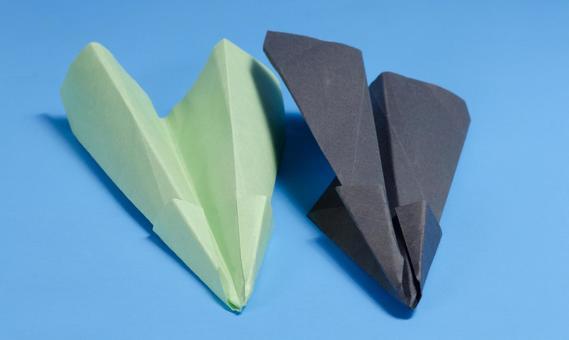 Paper flying machine 64