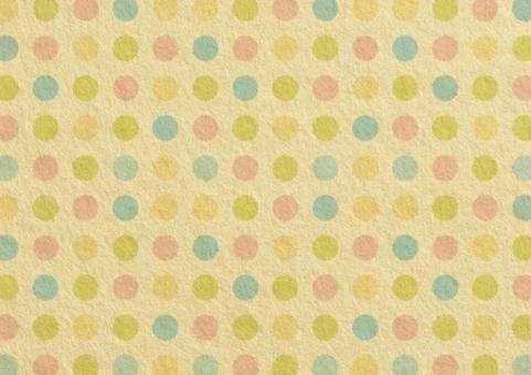 Felt dot 1. pastel colour