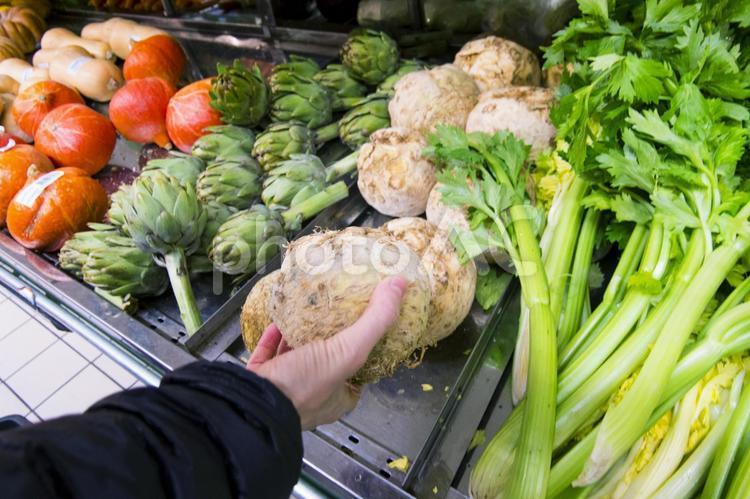 フランスのスーパーマッケットの写真