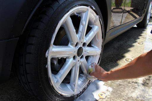 타이어 세척