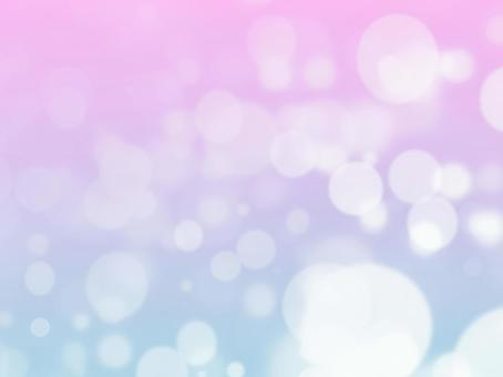 Pastel color snow world - healing relaxation
