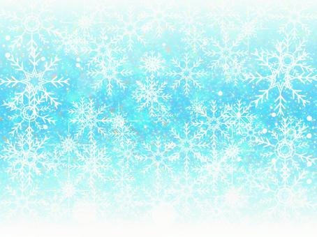 Snow Crystals Background 38