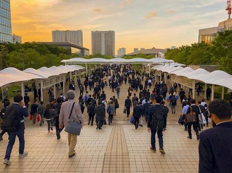Work style reform salaryman way back