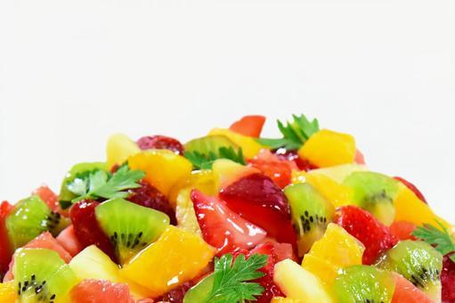Fruit and strawberry cake Fruit tart