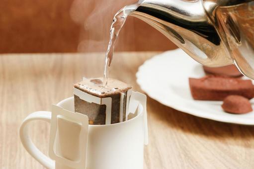 Drip bag brew coffee