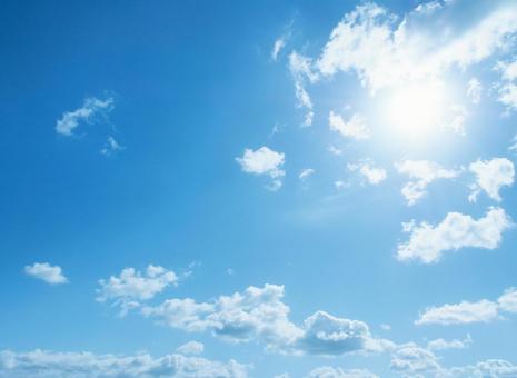 A refreshing blue sky image