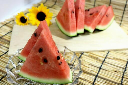 Fresh watermelon watermelon