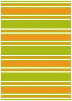 Background Material · Design · Yellow Green x Orange Border