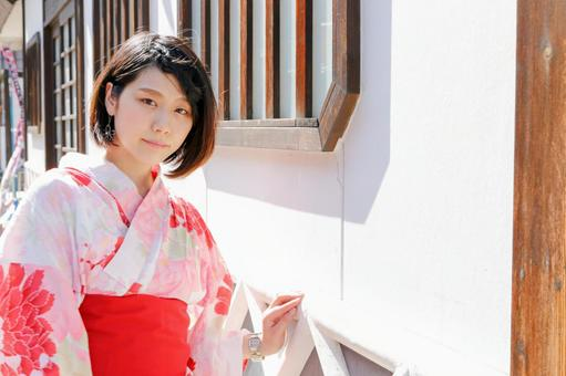 Visiting temples ~ Young Japanese women ~