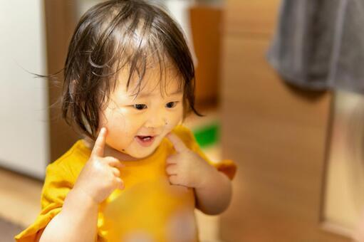 불이 퉁퉁하는 아이 프리 소재 무료 소재 사진 이미지