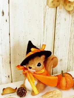 다람쥐 씨의 할로윈