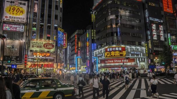 Shinjuku and Kabukicho at night # 7