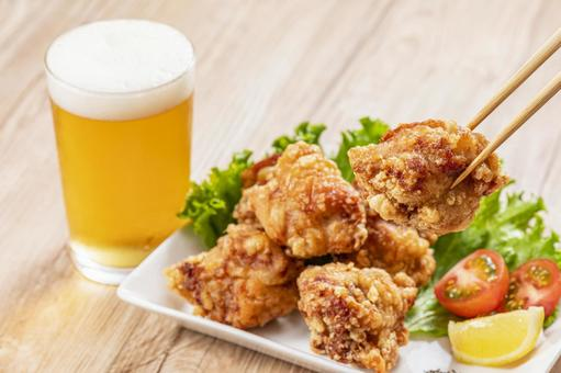 Fried chicken and beer Fried chicken