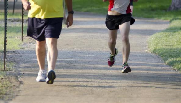 달리기하는 사람