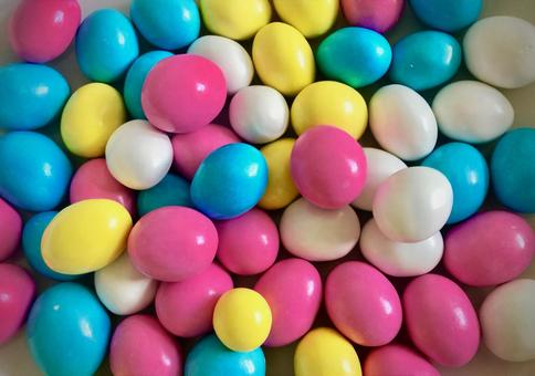 Foreign colorful sweets