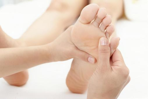 Reflexology beauty treatment salon image