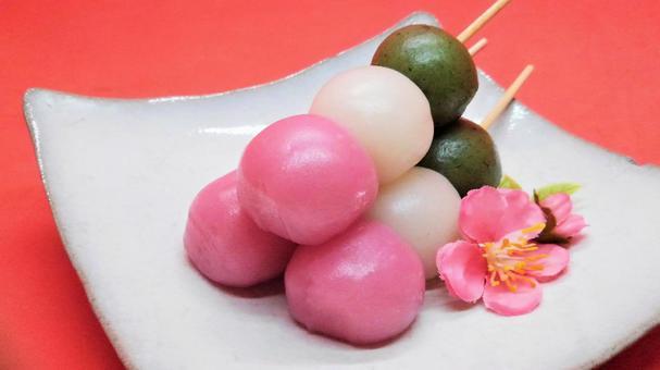 Three color dumpling 12